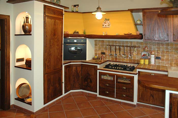 Pafen mobili bottega artigiana dal 1920 - Cucina finta muratura ikea ...